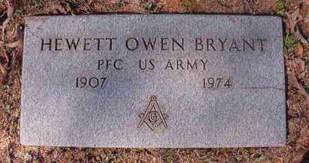 BRYANT (VETERAN), HEWETT OWEN - Dallas County, Arkansas | HEWETT OWEN BRYANT (VETERAN) - Arkansas Gravestone Photos