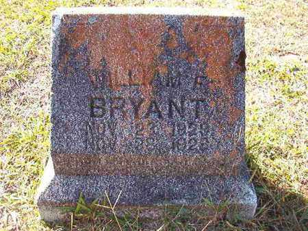 BRYANT, WILLIAM F - Dallas County, Arkansas | WILLIAM F BRYANT - Arkansas Gravestone Photos