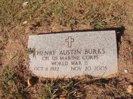 BURKS, HENRY AUSTIN - Dallas County, Arkansas | HENRY AUSTIN BURKS - Arkansas Gravestone Photos