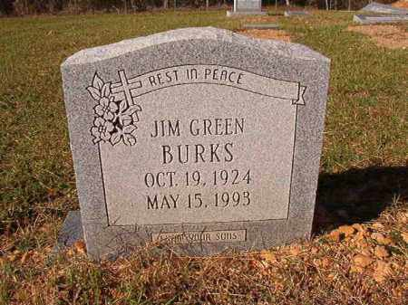BURKS, JIM GREEN - Dallas County, Arkansas | JIM GREEN BURKS - Arkansas Gravestone Photos