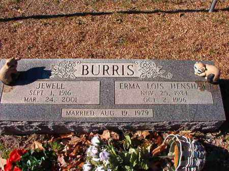 BURRIS, JEWELL - Dallas County, Arkansas | JEWELL BURRIS - Arkansas Gravestone Photos