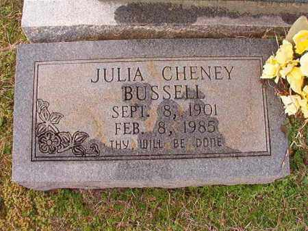 BUSSELL, JULIA - Dallas County, Arkansas | JULIA BUSSELL - Arkansas Gravestone Photos