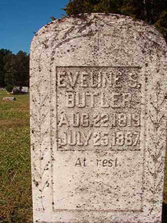 BUTLER, EVELINE S - Dallas County, Arkansas | EVELINE S BUTLER - Arkansas Gravestone Photos