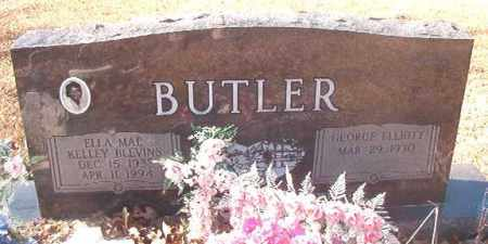 KELLEY BLEVINS BUTLER, ELLA MAE - Dallas County, Arkansas | ELLA MAE KELLEY BLEVINS BUTLER - Arkansas Gravestone Photos