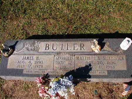 SHADDOCK BUTLER, MATTIE ILA - Dallas County, Arkansas | MATTIE ILA SHADDOCK BUTLER - Arkansas Gravestone Photos