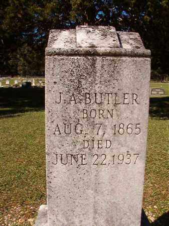 BUTLER, J A - Dallas County, Arkansas | J A BUTLER - Arkansas Gravestone Photos