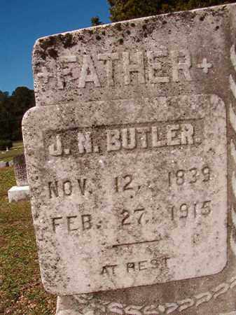 BUTLER, J N - Dallas County, Arkansas | J N BUTLER - Arkansas Gravestone Photos