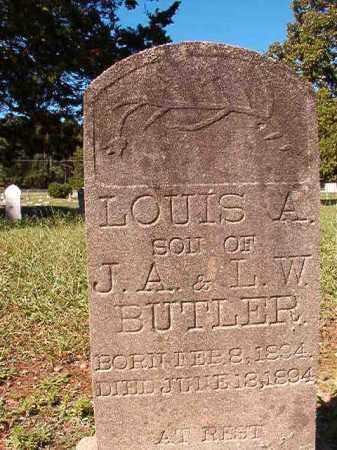BUTLER, LOUIS A - Dallas County, Arkansas | LOUIS A BUTLER - Arkansas Gravestone Photos