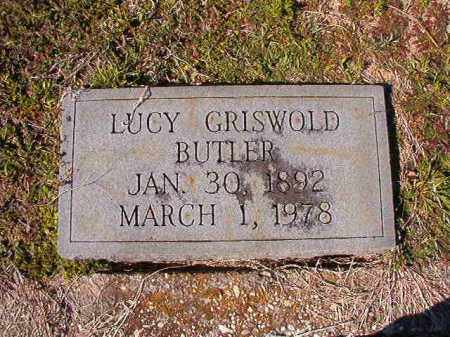 BUTLER, LUCY - Dallas County, Arkansas | LUCY BUTLER - Arkansas Gravestone Photos