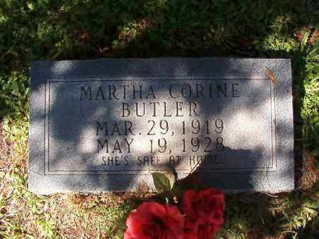 BUTLER, MARTHA CORINE - Dallas County, Arkansas | MARTHA CORINE BUTLER - Arkansas Gravestone Photos