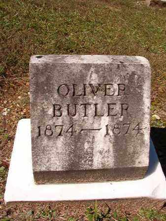 BUTLER, OLIVER - Dallas County, Arkansas | OLIVER BUTLER - Arkansas Gravestone Photos