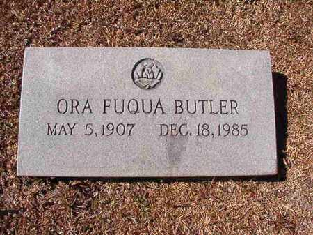 FUQUA BUTLER, ORA - Dallas County, Arkansas | ORA FUQUA BUTLER - Arkansas Gravestone Photos