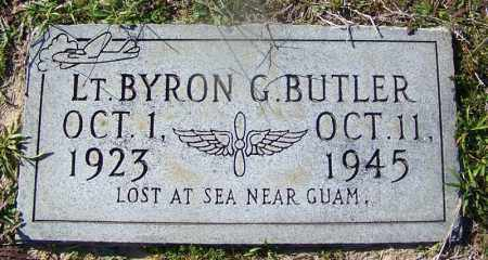 BUTLER (VETERAN WWII), BYRON G - Dallas County, Arkansas | BYRON G BUTLER (VETERAN WWII) - Arkansas Gravestone Photos