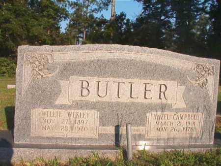 BUTLER, WILLIE WESLEY - Dallas County, Arkansas | WILLIE WESLEY BUTLER - Arkansas Gravestone Photos