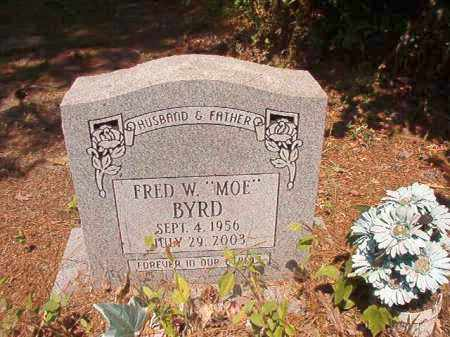 "BYRD, FRED W ""MOE"" - Dallas County, Arkansas 