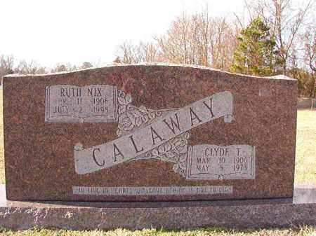 CALAWAY, CLYDE T - Dallas County, Arkansas | CLYDE T CALAWAY - Arkansas Gravestone Photos
