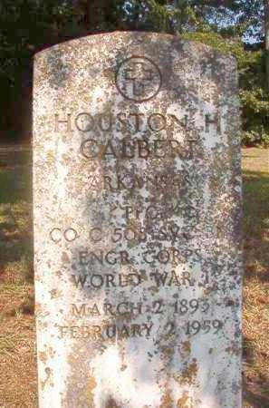 CALBERT (VETERAN WWI), HOUSTON H - Dallas County, Arkansas | HOUSTON H CALBERT (VETERAN WWI) - Arkansas Gravestone Photos
