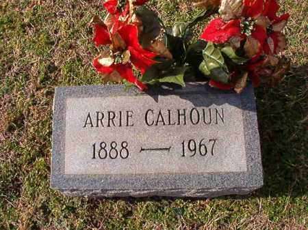 CALHOUN, ARRIE - Dallas County, Arkansas | ARRIE CALHOUN - Arkansas Gravestone Photos