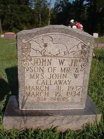 CALLAWAY, JR, JOHN W - Dallas County, Arkansas | JOHN W CALLAWAY, JR - Arkansas Gravestone Photos