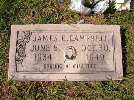 CAMPBELL, JAMES E - Dallas County, Arkansas | JAMES E CAMPBELL - Arkansas Gravestone Photos
