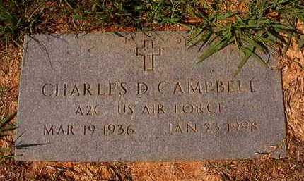 CAMPBELL (VETERAN), CHARLES D - Dallas County, Arkansas | CHARLES D CAMPBELL (VETERAN) - Arkansas Gravestone Photos