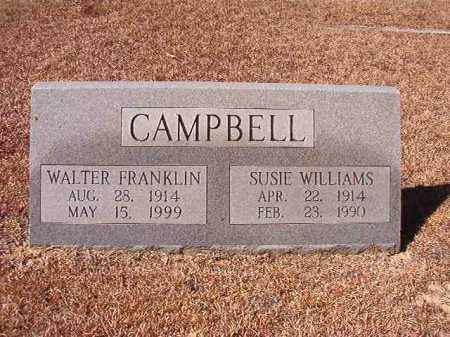 CAMPBELL, SUSIE - Dallas County, Arkansas | SUSIE CAMPBELL - Arkansas Gravestone Photos