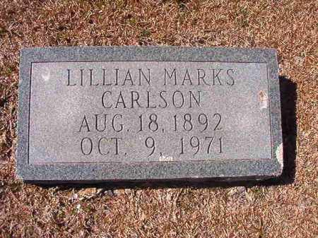 CARLSON, LILLIAN - Dallas County, Arkansas | LILLIAN CARLSON - Arkansas Gravestone Photos