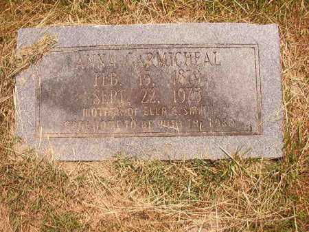 CARMICHEAL, ANNA - Dallas County, Arkansas | ANNA CARMICHEAL - Arkansas Gravestone Photos