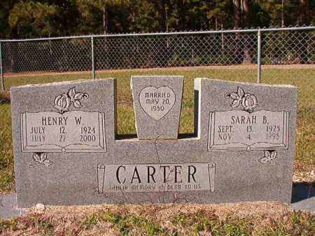 CARTER, HENRY W - Dallas County, Arkansas | HENRY W CARTER - Arkansas Gravestone Photos