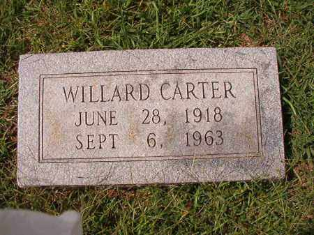 CARTER, WILLARD - Dallas County, Arkansas | WILLARD CARTER - Arkansas Gravestone Photos
