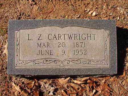 CARTWRIGHT, L Z - Dallas County, Arkansas | L Z CARTWRIGHT - Arkansas Gravestone Photos