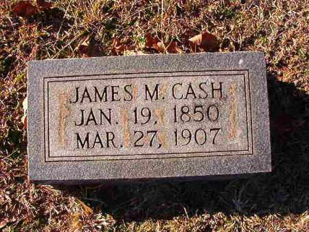 CASH, JAMES M - Dallas County, Arkansas | JAMES M CASH - Arkansas Gravestone Photos