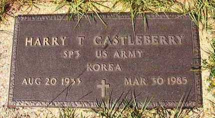 CASTLEBERRY (VETERAN KOR), HARRY T - Dallas County, Arkansas | HARRY T CASTLEBERRY (VETERAN KOR) - Arkansas Gravestone Photos