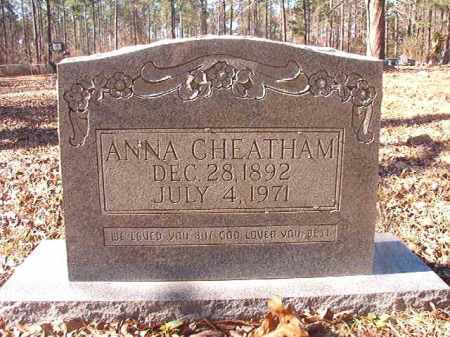 CHEATHAM, ANNA - Dallas County, Arkansas | ANNA CHEATHAM - Arkansas Gravestone Photos