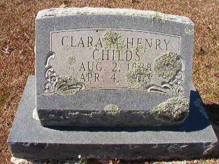 CHILDS, CLARA M - Dallas County, Arkansas | CLARA M CHILDS - Arkansas Gravestone Photos