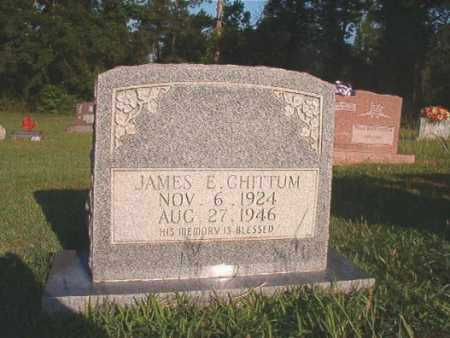 CHITTUM, JAMES E - Dallas County, Arkansas | JAMES E CHITTUM - Arkansas Gravestone Photos