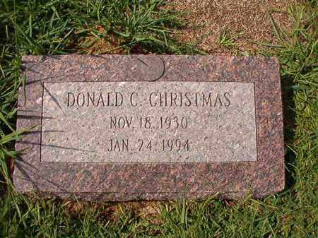 CHRISTMAS, DONALD C - Dallas County, Arkansas | DONALD C CHRISTMAS - Arkansas Gravestone Photos