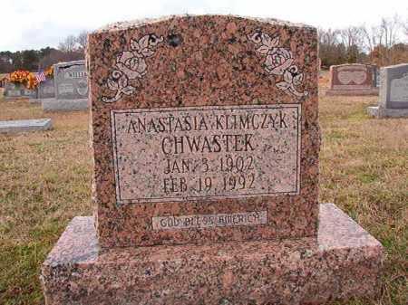 KLIMCZYK CHWASTEK, ANASTASIA - Dallas County, Arkansas | ANASTASIA KLIMCZYK CHWASTEK - Arkansas Gravestone Photos