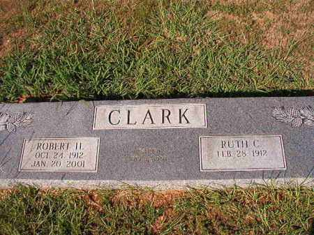 CLARK, ROBERT H - Dallas County, Arkansas | ROBERT H CLARK - Arkansas Gravestone Photos