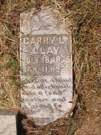 CLAY, CARRY L - Dallas County, Arkansas | CARRY L CLAY - Arkansas Gravestone Photos
