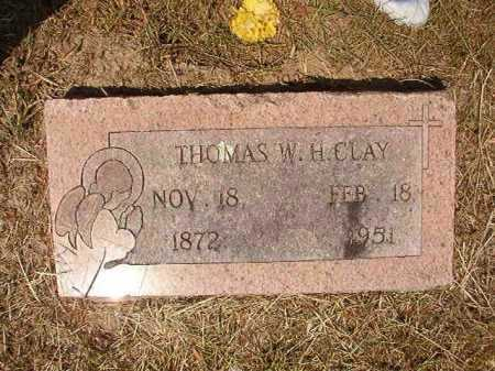 CLAY, THOMAS W H - Dallas County, Arkansas | THOMAS W H CLAY - Arkansas Gravestone Photos