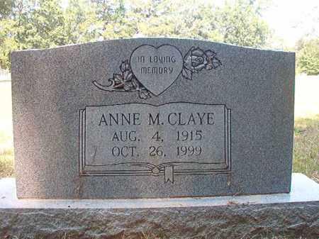 CLAYE, ANNE M - Dallas County, Arkansas | ANNE M CLAYE - Arkansas Gravestone Photos