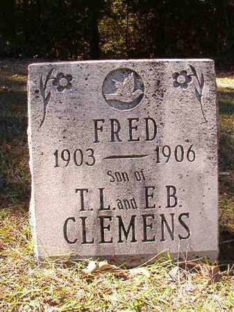 CLEMENS, FRED - Dallas County, Arkansas | FRED CLEMENS - Arkansas Gravestone Photos