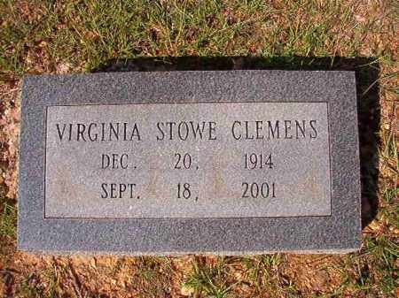 STOWE CLEMENS, VIRGINIA - Dallas County, Arkansas | VIRGINIA STOWE CLEMENS - Arkansas Gravestone Photos