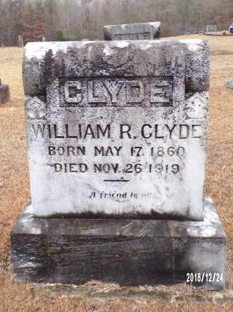 CLYDE, WILLIAM R - Dallas County, Arkansas | WILLIAM R CLYDE - Arkansas Gravestone Photos