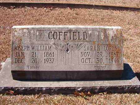 COFFIELD, JOSEPH WILLIAM - Dallas County, Arkansas | JOSEPH WILLIAM COFFIELD - Arkansas Gravestone Photos