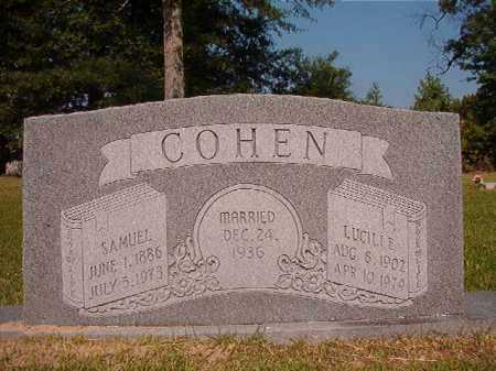 COHEN, SAMUEL - Dallas County, Arkansas | SAMUEL COHEN - Arkansas Gravestone Photos