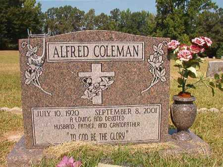 COLEMAN, ALFRED - Dallas County, Arkansas | ALFRED COLEMAN - Arkansas Gravestone Photos