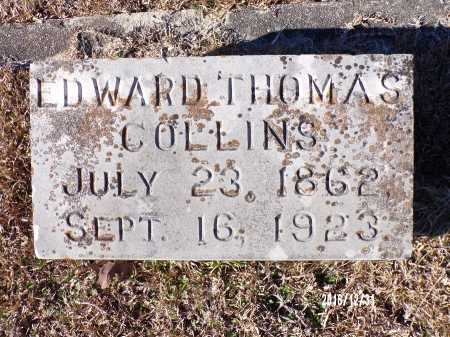 COLLINS, EDWARD THOMAS - Dallas County, Arkansas | EDWARD THOMAS COLLINS - Arkansas Gravestone Photos