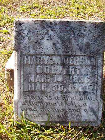 COLVERT, MARY - Dallas County, Arkansas | MARY COLVERT - Arkansas Gravestone Photos